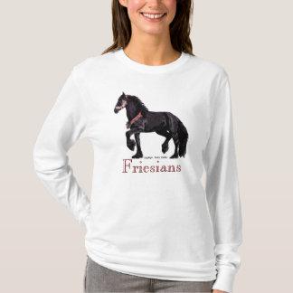 """Le cheval de """"frisons"""" pique #1 t-shirt"""