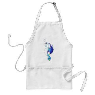 Le cheval de l'eau bleue tablier