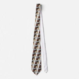 Le cheval de travail cravates