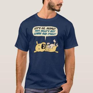 Le chien a besoin de la chemise drôle de bande de t-shirt