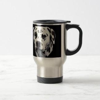 Le chien de beau mug de voyage
