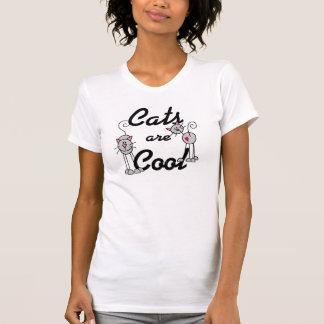 Le chiffre chats de bâton sont chemise fraîche t-shirt