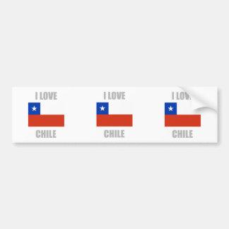 Le Chili Autocollant De Voiture