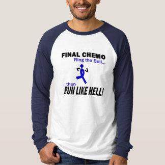 Le chimio final courent beaucoup - cancer du colon t-shirt