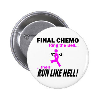 Le chimio final courent beaucoup - cancer du sein pin's
