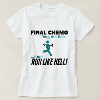 Le chimio final courent beaucoup - Cancer ovarien T-shirt