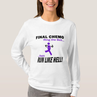 Le chimio final courent beaucoup - le ruban violet t-shirt