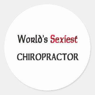 Le chiroprakteur le plus sexy du monde autocollants