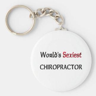 Le chiroprakteur le plus sexy du monde porte-clé rond