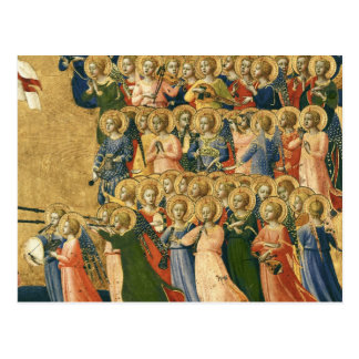 Le Christ a amélioré dans la cour du ciel Carte Postale