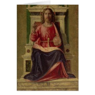 Le Christ a couronné, c.1505 Cartes