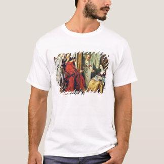 Le Christ à la Chambre de Martha et de Mary de T-shirt