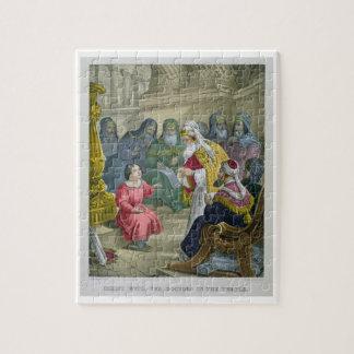 Le Christ avec les médecins dans le temple, d'un b Puzzle