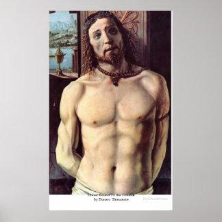 Le Christ bondissent à la colonne par Donato Brama Affiches