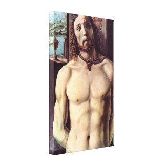Le Christ bondissent à la colonne par Donato Brama Toiles Tendues