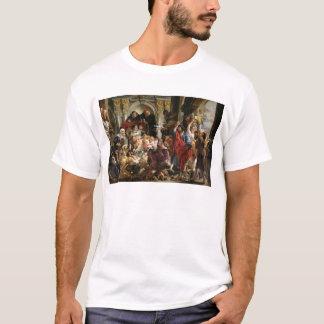 Le Christ conduisant les négociants par le temple T-shirt