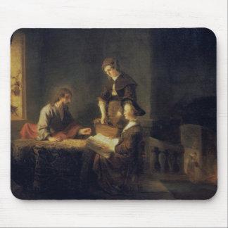 Le Christ dans la Chambre de Martha et de Mary Tapis De Souris