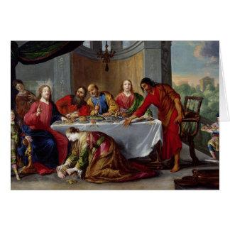 Le Christ dans la Chambre de Simon le Pharisee Cartes