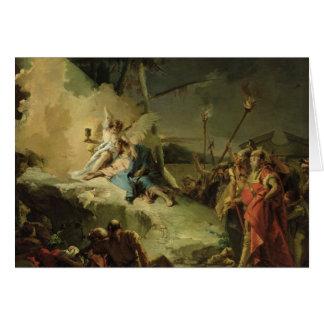 Le Christ dans le jardin de Gethsemane Carte De Vœux