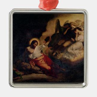 Le Christ dans le jardin des olives, 1827 Ornement Carré Argenté