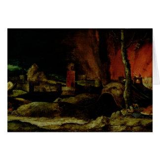 Le Christ dans le vide 2 Carte De Vœux