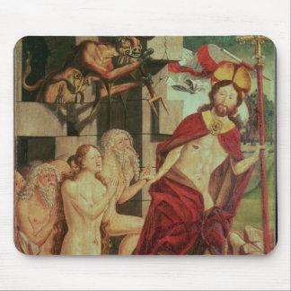 Le Christ dans l'enfer Tapis De Souris