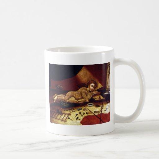 Le Christ dormant avec les attributs de la passion Mug