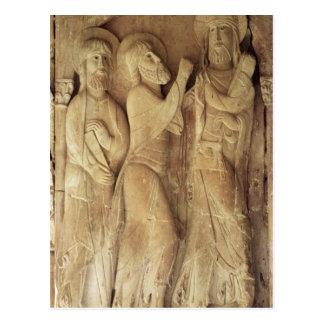 Le Christ et les pèlerins d'Emmaus Carte Postale