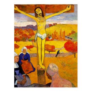 Le Christ jaune par Paul Gauguin Carte Postale