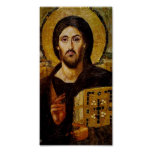Le Christ la copie d'affiche de sauveur