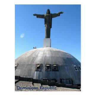 Le Christ la statue de rédempteur, République Carte Postale