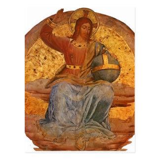 Le Christ le juge par ATF Angelico Carte Postale