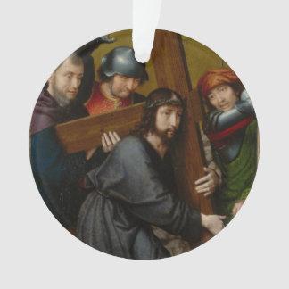 Le Christ portant la croix, avec la crucifixion