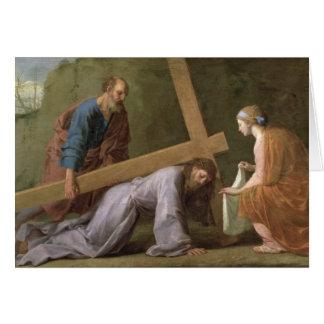 Le Christ portant la croix, c.1651 Cartes