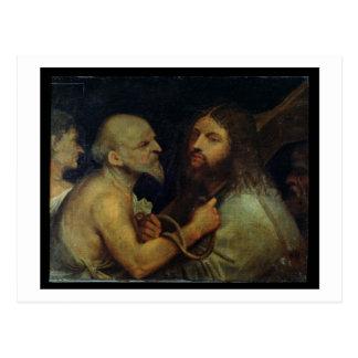 Le Christ portant la croix Carte Postale
