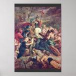 Le Christ portant la croix par Rubens Peter Paul Affiches