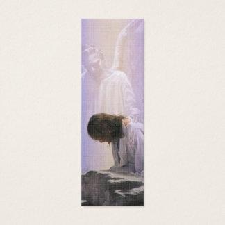 Le Christ souffre dans la marque-page de bible de Mini Carte De Visite
