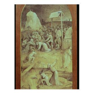Le Christ sur la route vers le calvaire Carte Postale
