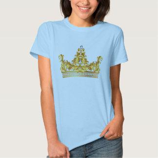 Le ciel des femmes/le T-shirt petit Reine bleue