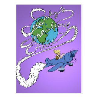 le ciel est la limite alice.jpg carte postale