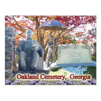 Le cimetière historique d'Oakland, Atlanta, GA Carte Postale
