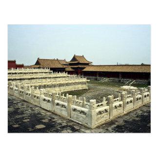 Le Cité interdite, Pékin, Chine Carte Postale
