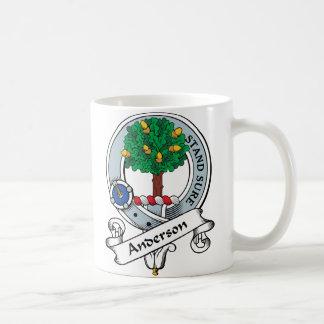 Le clan d'Anderson Badge Mug