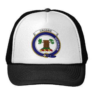 Le clan de Crosbie (ou Crosby) Badge Casquettes De Camionneur