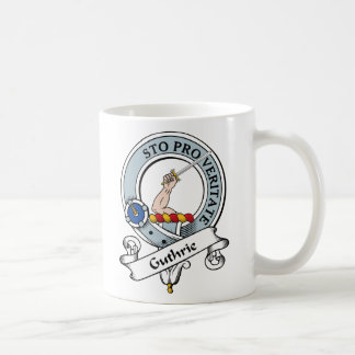Le clan de Guthrie Badge Mug