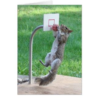 Le claquement d'écureuil trempent cartes