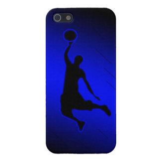 Le claquement trempent le coque iphone de basket-b
