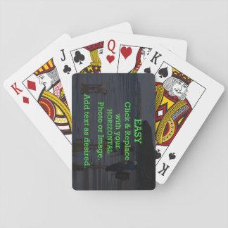 Le clic facile et remplacent l'image pour créer jeu de cartes