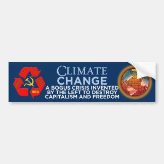 Le climat Changement-Vert est le nouvel adhésif po Autocollant Pour Voiture