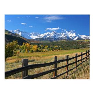 Le clivage de Dallas près de Ridgway, le Colorado… Carte Postale